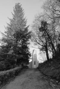 Black and white Lough eske